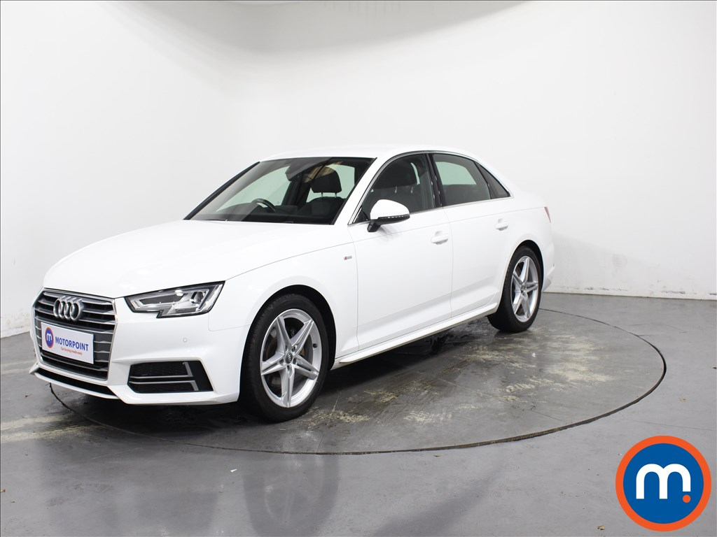 Audi A4 1.4T FSI S Line 4dr [Leather-Alc] - Stock Number 1142560 Passenger side front corner