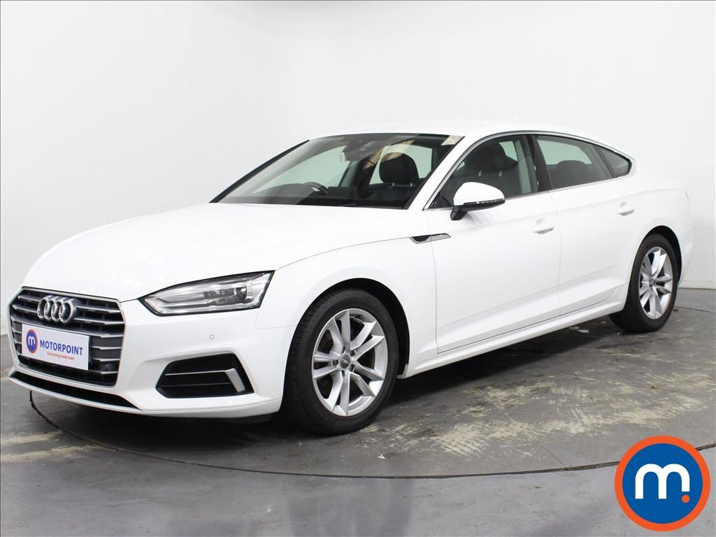 Audi A5 Sport - Stock Number 1132942 Passenger side front corner