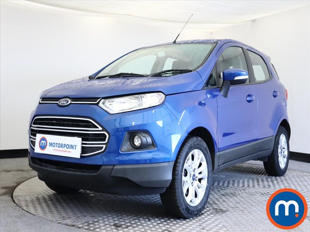 Ford Ecosport Zetec - Stock Number 1141430 Passenger side front corner