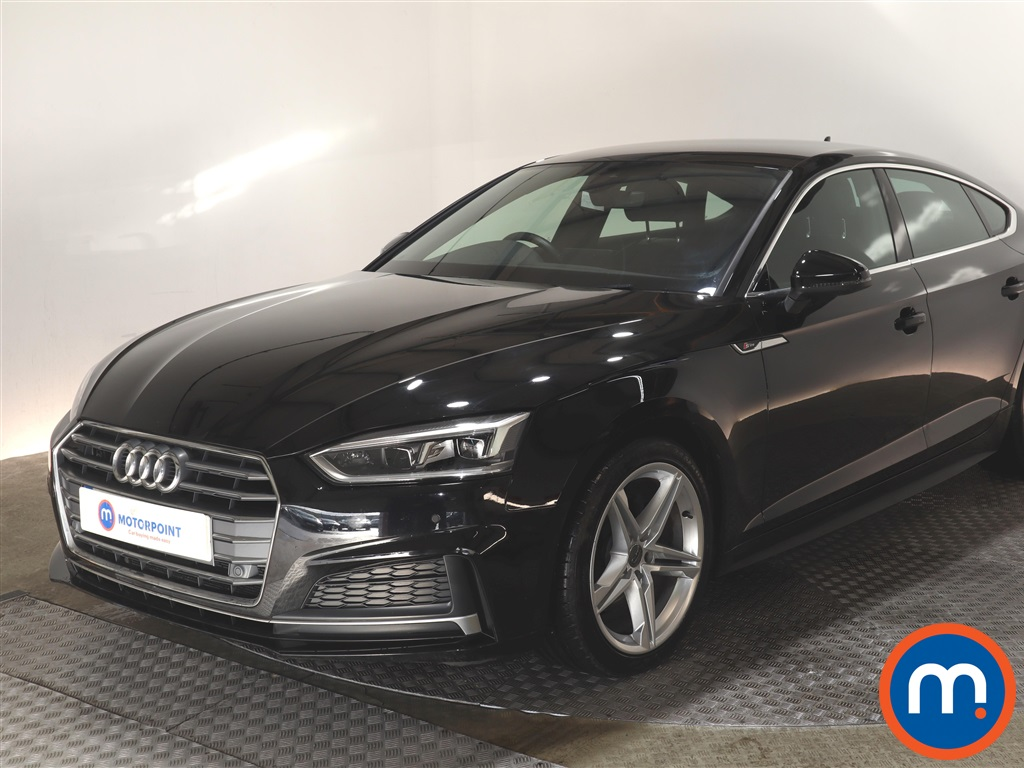 Audi A5 1.4 TFSI S Line 5dr S Tronic - Stock Number 1141798 Passenger side front corner