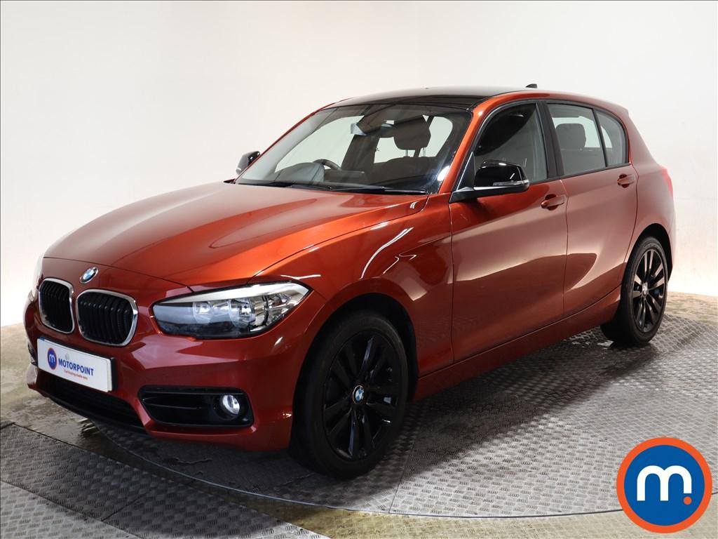 BMW 1 Series Sport - Stock Number 1144189 Passenger side front corner