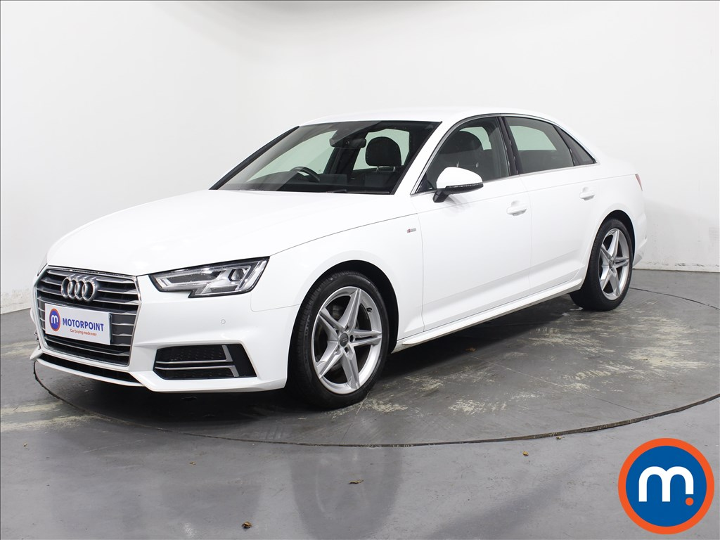 Audi A4 1.4T FSI S Line 4dr [Leather-Alc] - Stock Number 1143710 Passenger side front corner