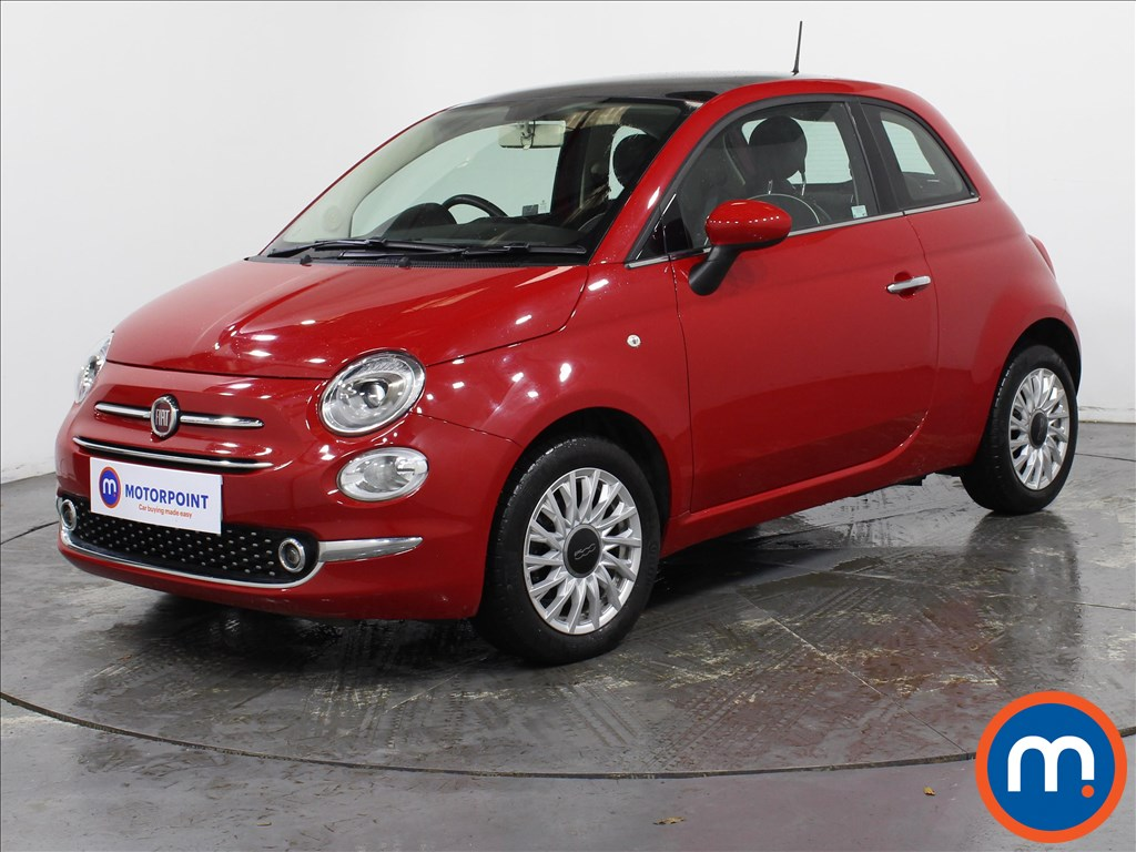 Fiat 500 1.2 Lounge 3dr - Stock Number 1146140 Passenger side front corner