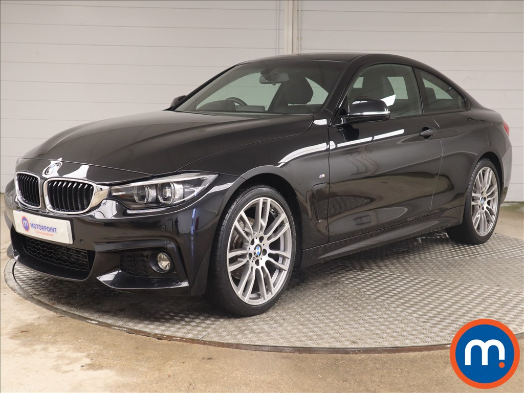 BMW 4 Series 420d [190] M Sport 2dr [Professional Media] - Stock Number 1144257 Passenger side front corner