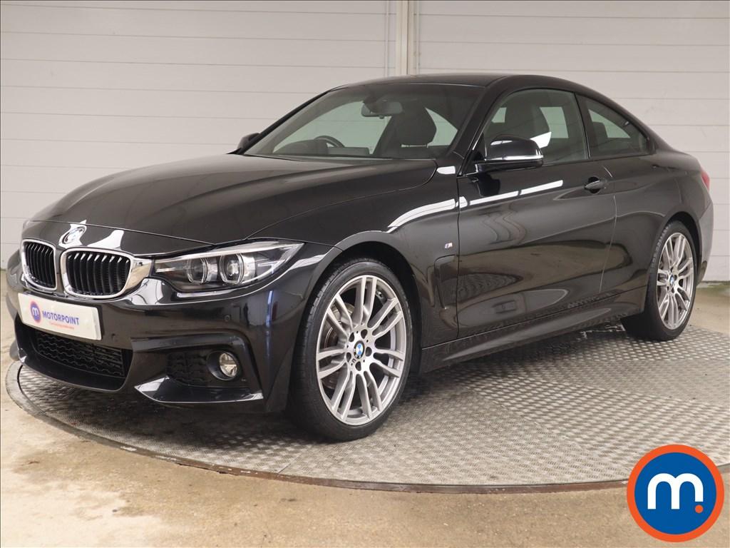 BMW 4 Series 420d [190] M Sport 2dr [Professional Media] - Stock Number 1144257 Passenger side front corner
