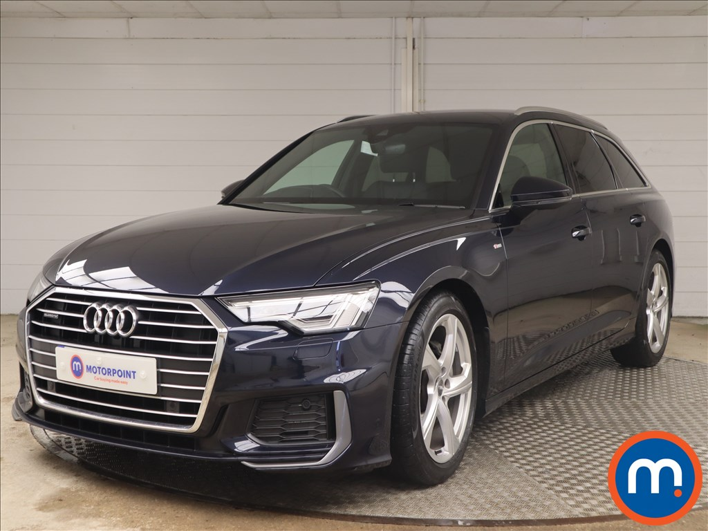 Audi A6 40 TDI Quattro S Line 5dr S Tronic - Stock Number 1146530 Passenger side front corner