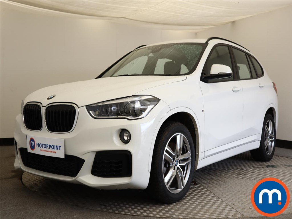 BMW X1 xDrive 20i M Sport 5dr Step Auto - Stock Number 1146776 Passenger side front corner