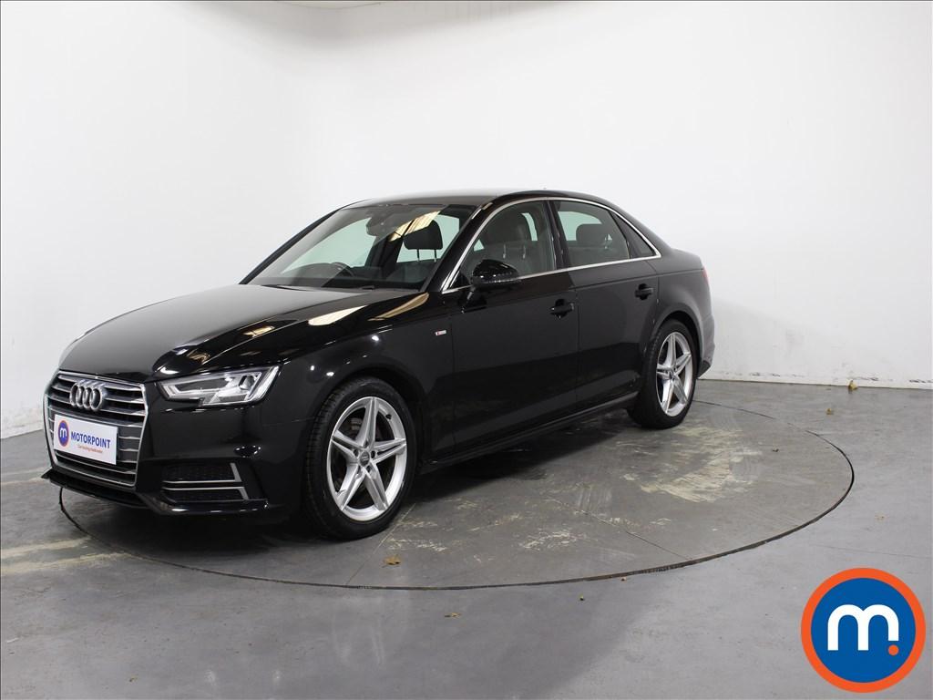 Audi A4 S Line - Stock Number 1143676 Passenger side front corner