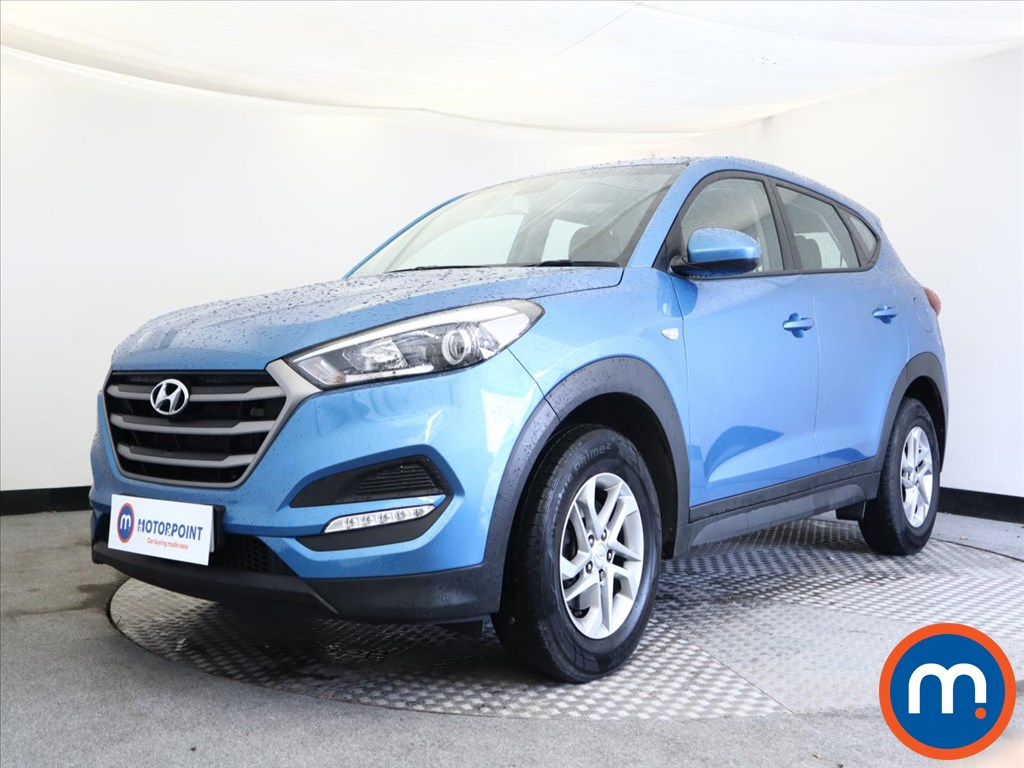 Hyundai Tucson 1.7 CRDi Blue Drive S 5dr 2WD - Stock Number 1141348 Passenger side front corner