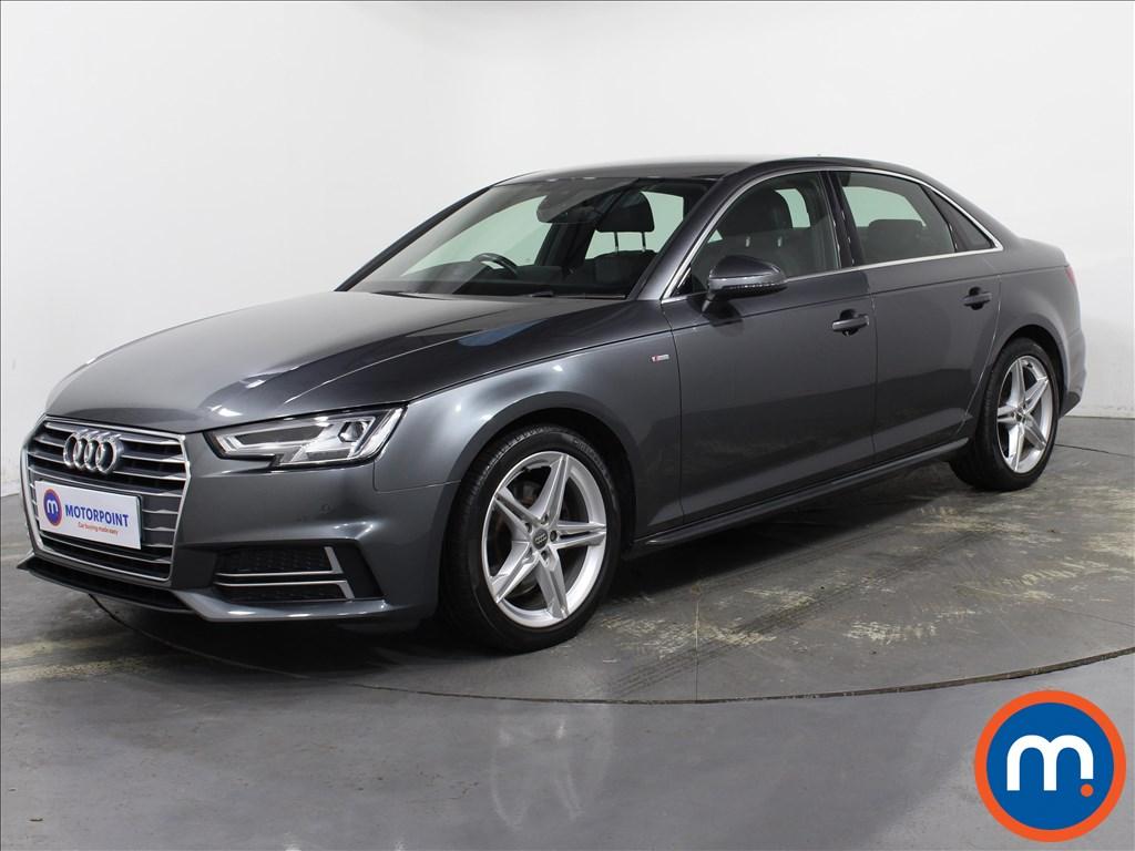 Audi A4 S Line - Stock Number 1143563 Passenger side front corner