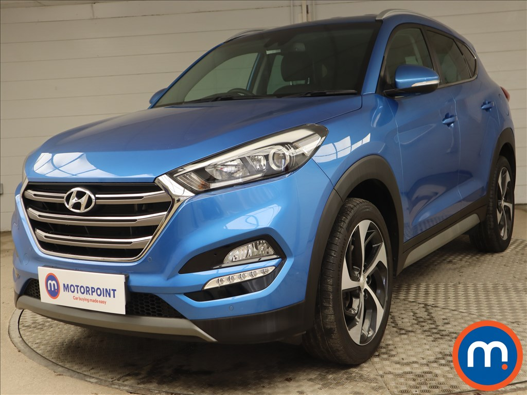 Hyundai Tucson Sport Edition - Stock Number 1139840 Passenger side front corner
