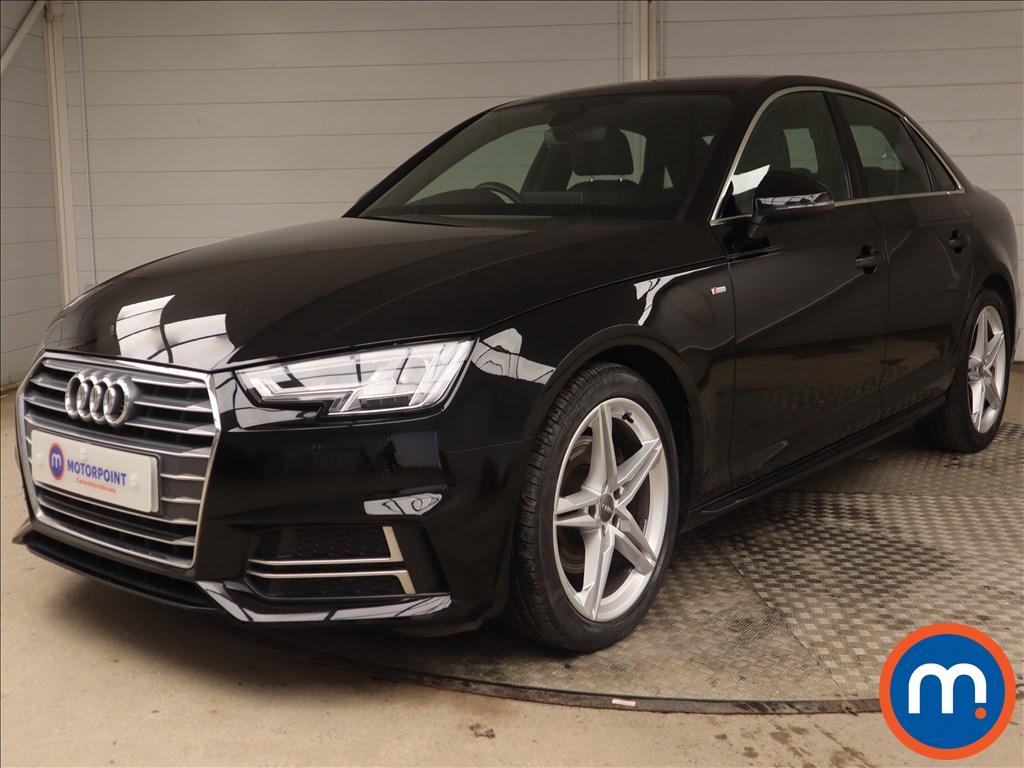 Audi A4 S Line - Stock Number 1145730 Passenger side front corner