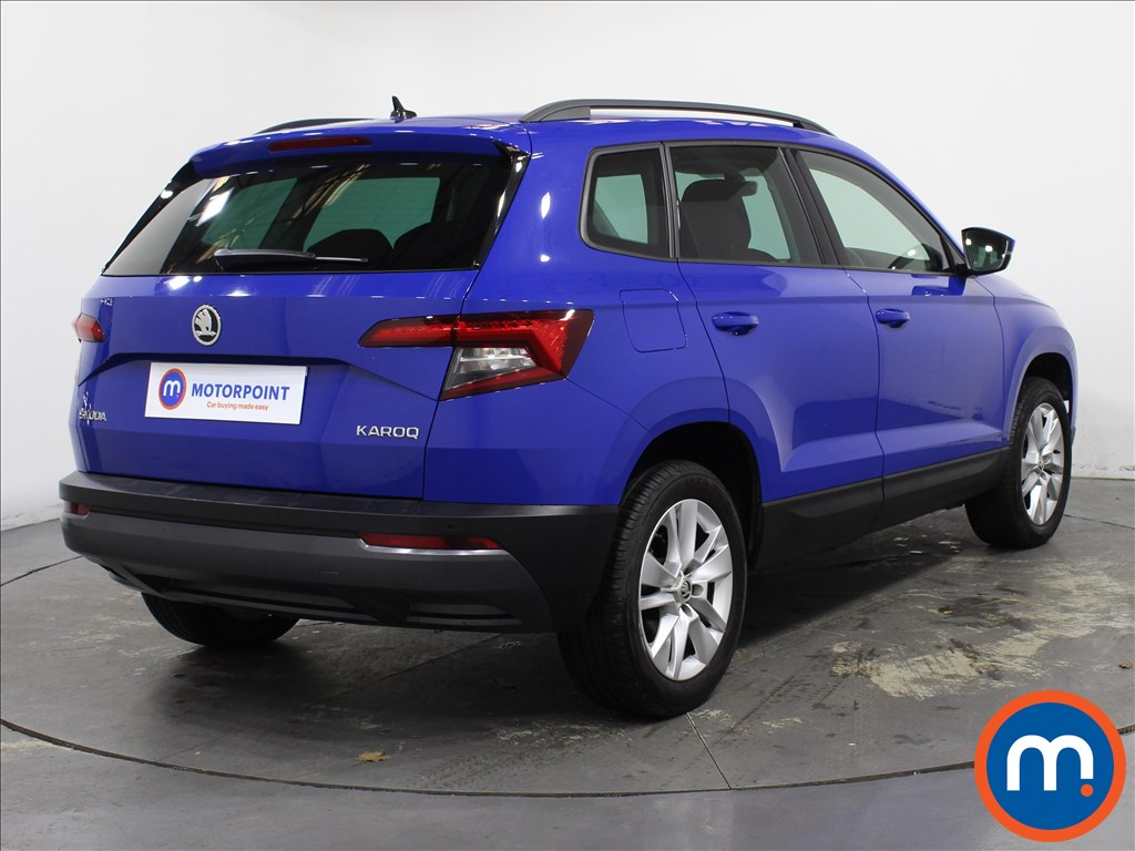 Skoda Karoq SE Technology - Stock Number 1144282 Passenger side front corner