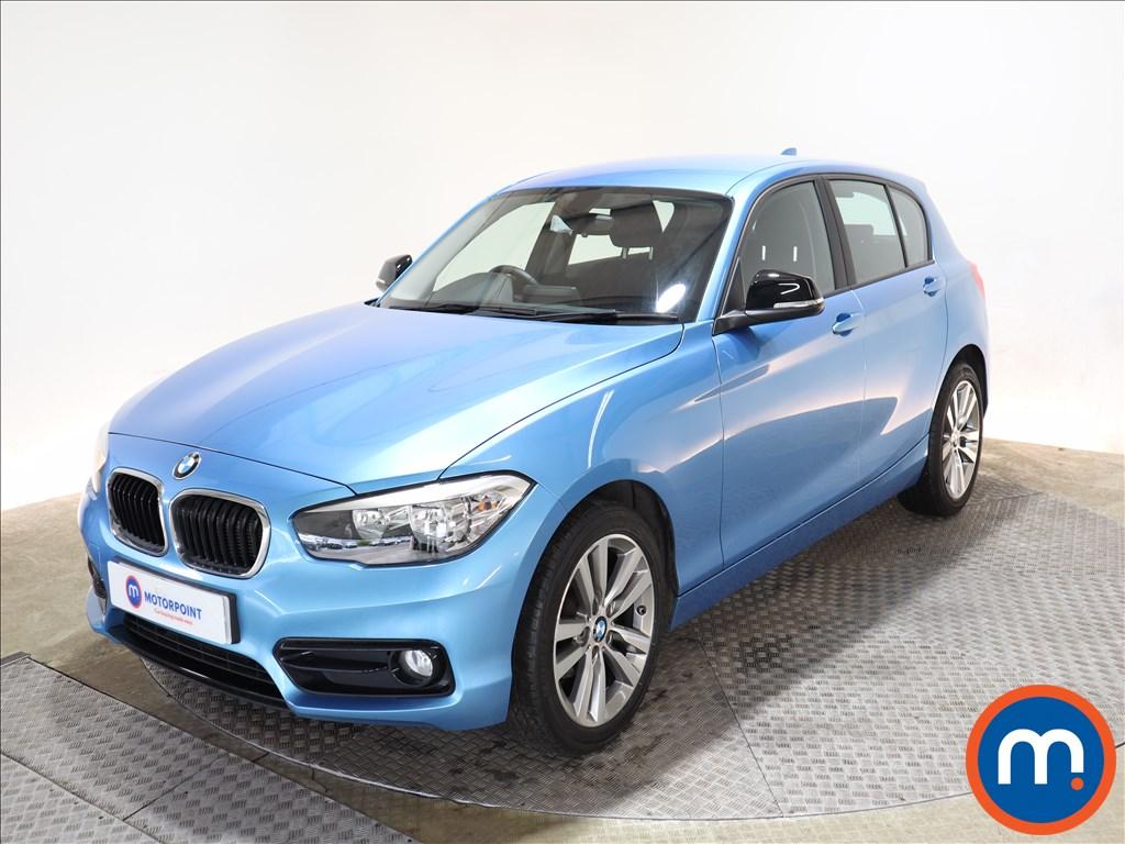 BMW 1 Series Sport - Stock Number 1137401 Passenger side front corner