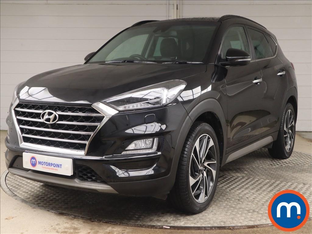 Hyundai Tucson Premium SE - Stock Number 1146528 Passenger side front corner