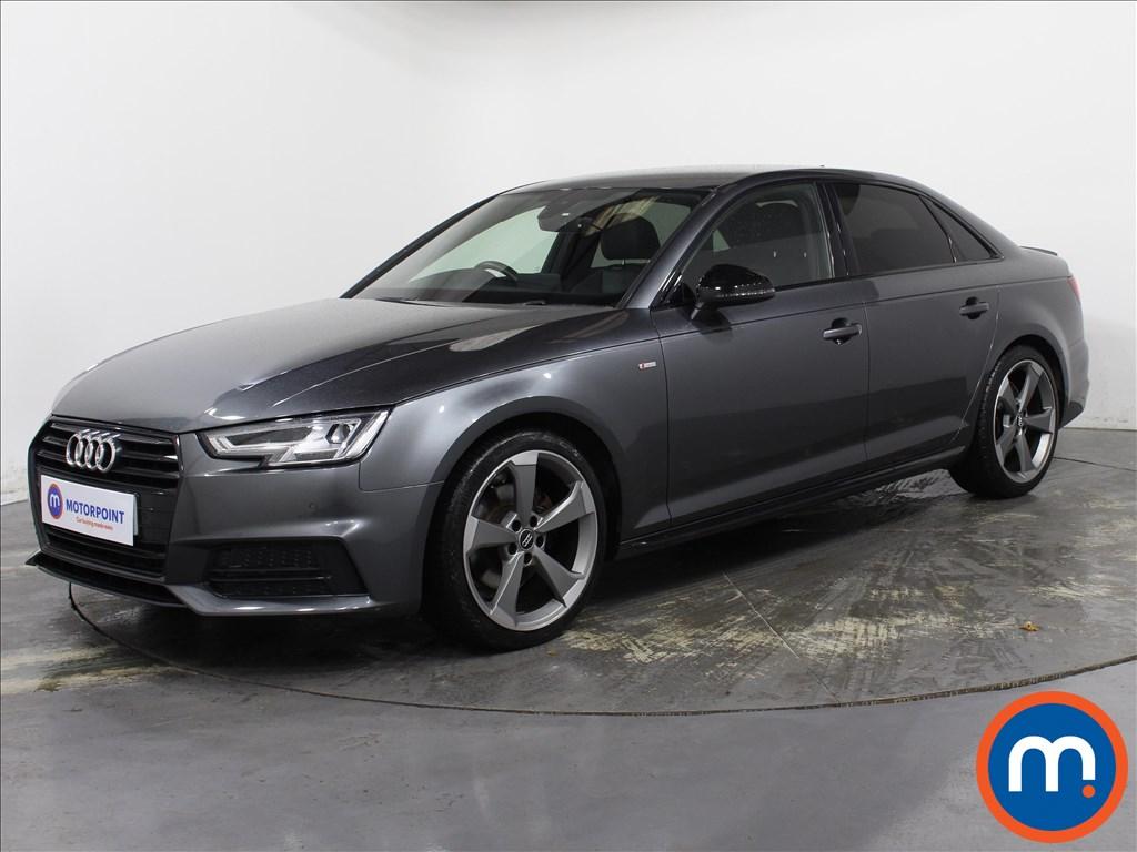 Audi A4 Black Edition - Stock Number 1145280 Passenger side front corner