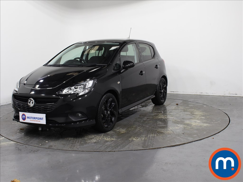 Vauxhall Corsa 1.4 SRi Vx-line Nav Black 5dr - Stock Number 1143305 Passenger side front corner