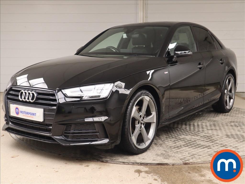 Audi A4 Black Edition - Stock Number 1143703 Passenger side front corner