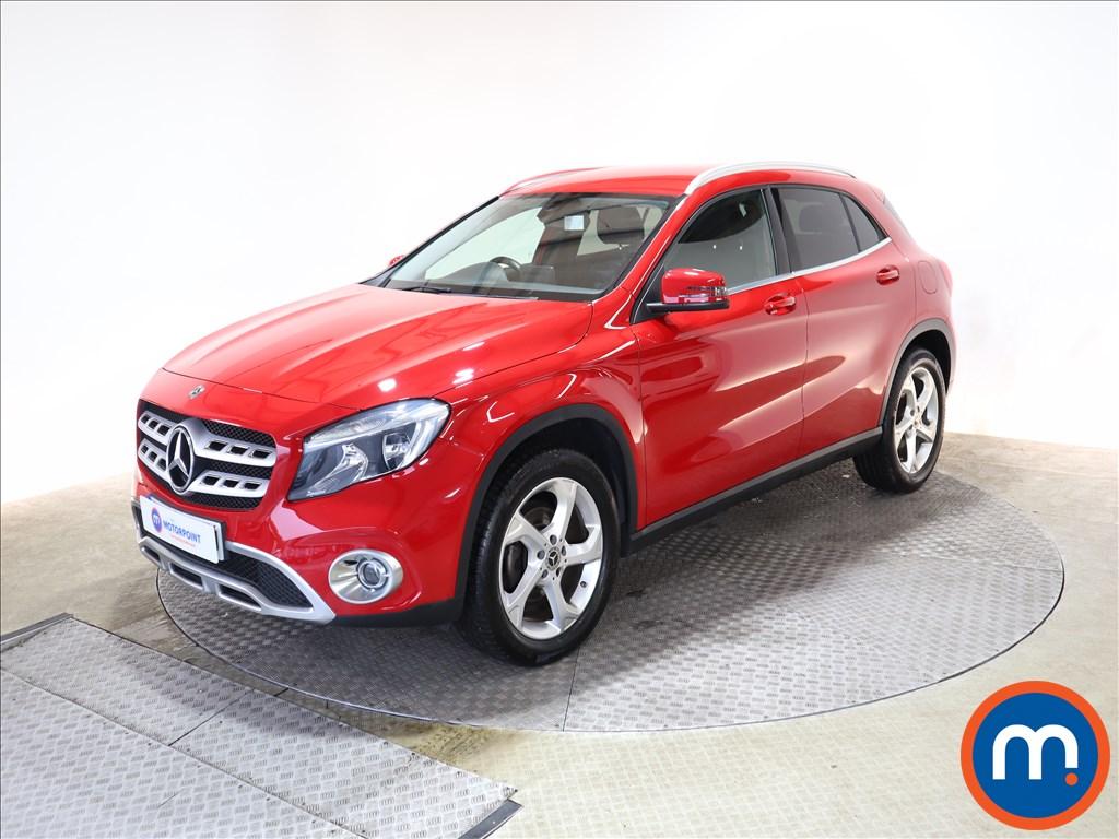 Mercedes-Benz GLA Sport - Stock Number 1145488 Passenger side front corner