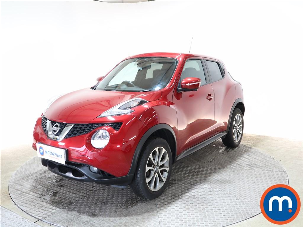 Nissan Juke Tekna - Stock Number 1143949 Passenger side front corner