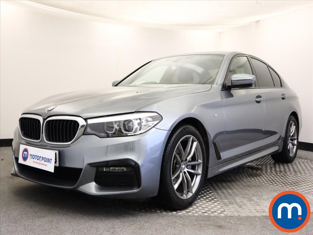 BMW 5 Series 520d M Sport 4dr Auto - Stock Number 1146437 Passenger side front corner