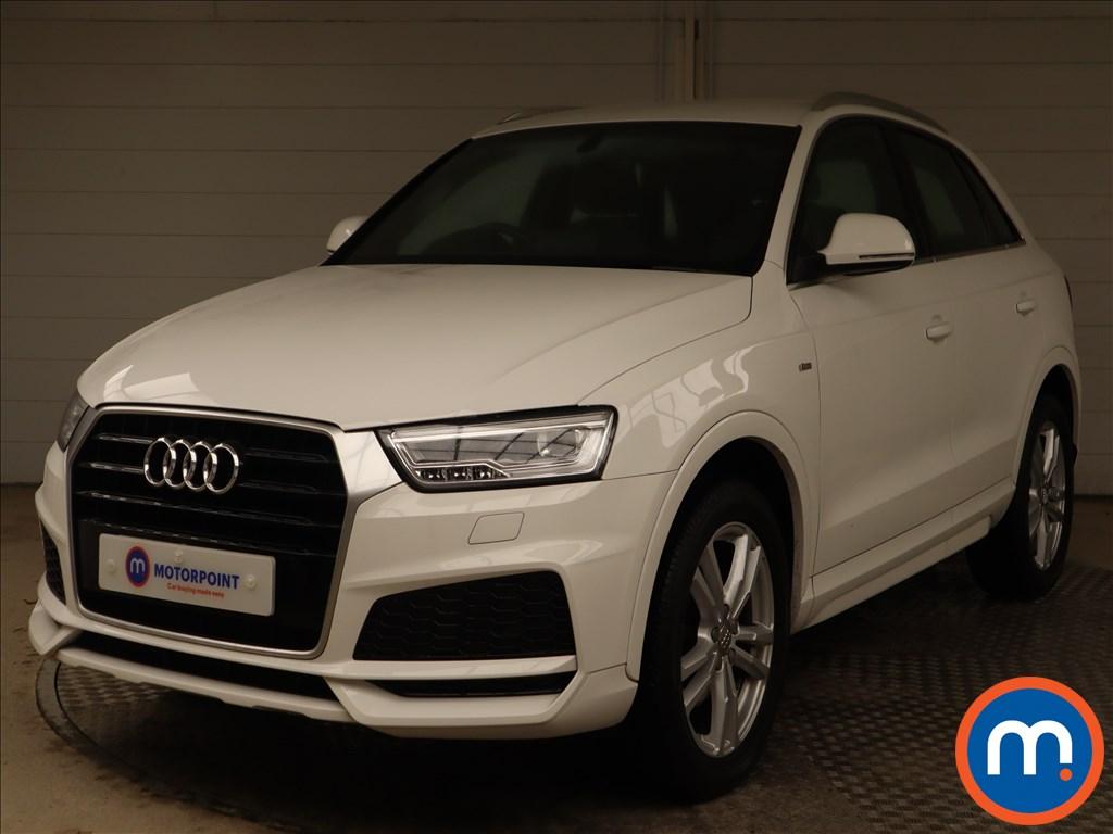 Audi Q3 S Line Edition - Stock Number 1148041 Passenger side front corner