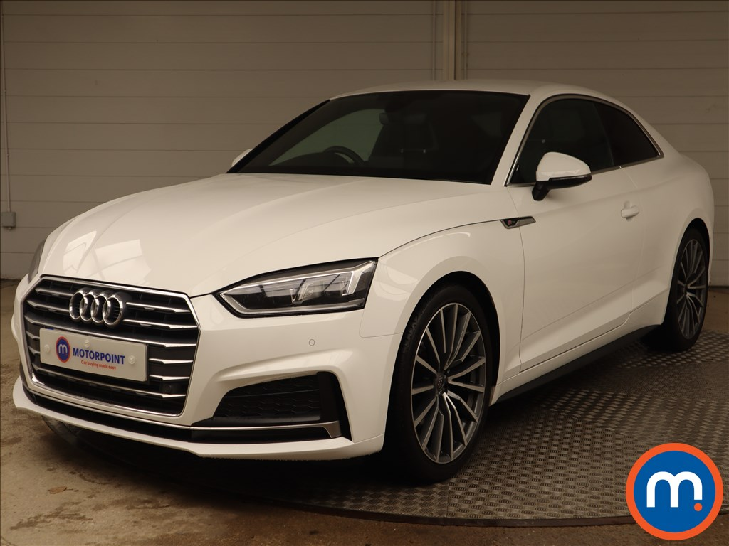 Audi A5 S Line - Stock Number 1145724 Passenger side front corner