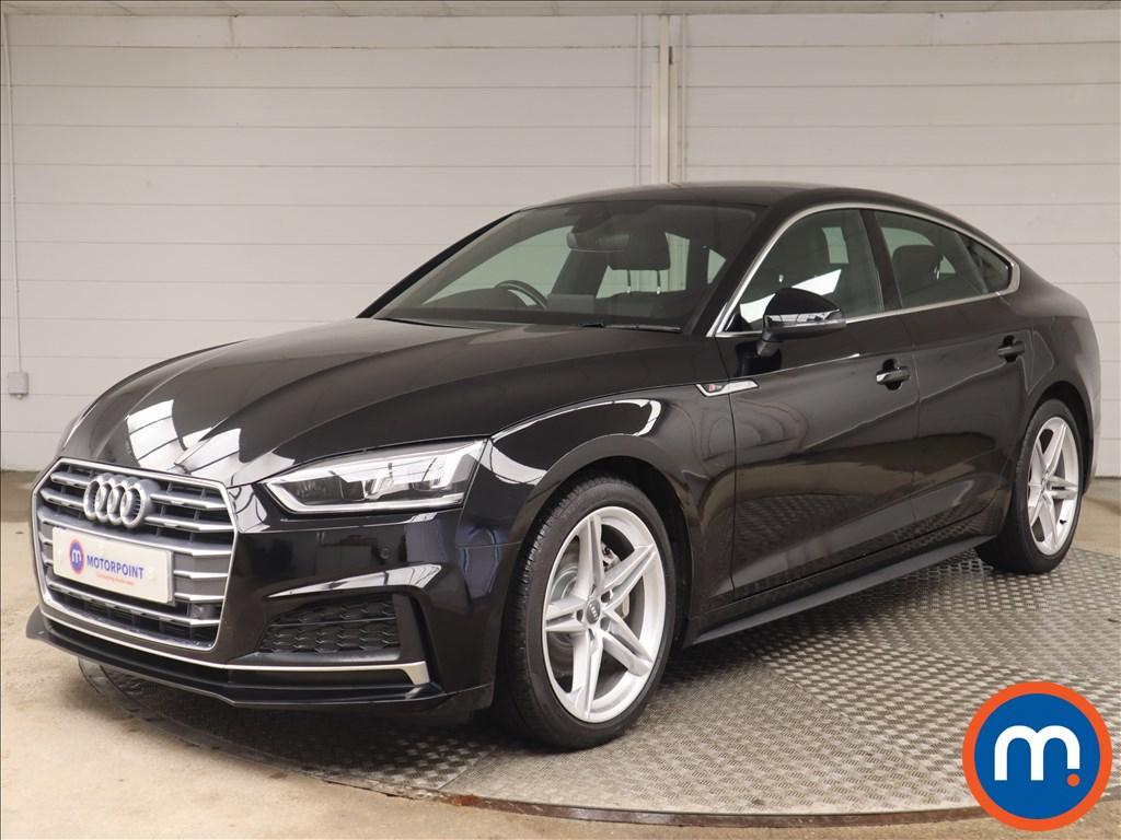 Audi A5 2.0 TDI Ultra S Line 5dr S Tronic - Stock Number 1145710 Passenger side front corner