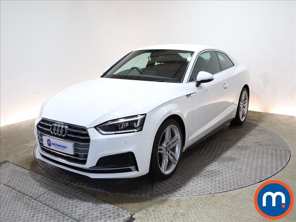 Audi A5 S Line - Stock Number 1144535 Passenger side front corner