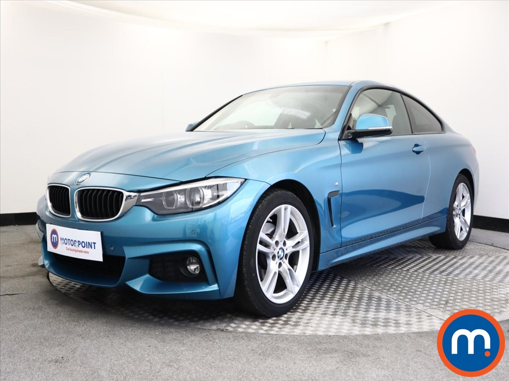 BMW 4 Series 420i M Sport 2dr Auto [Professional Media] - Stock Number 1147474 Passenger side front corner