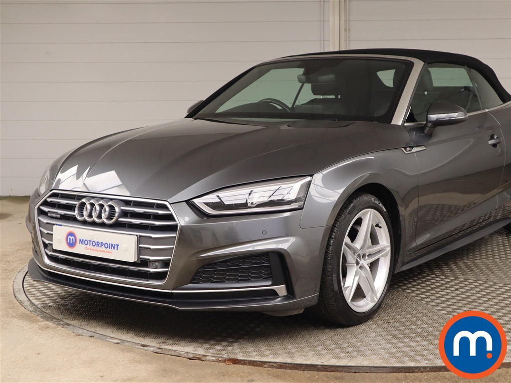 Audi A5 2.0 TDI Quattro S Line 2dr S Tronic - Stock Number 1145722 Passenger side front corner