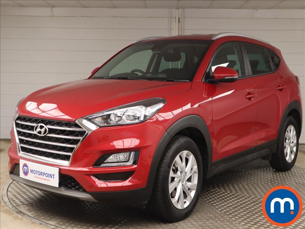 Hyundai Tucson SE Nav - Stock Number 1144197 Passenger side front corner