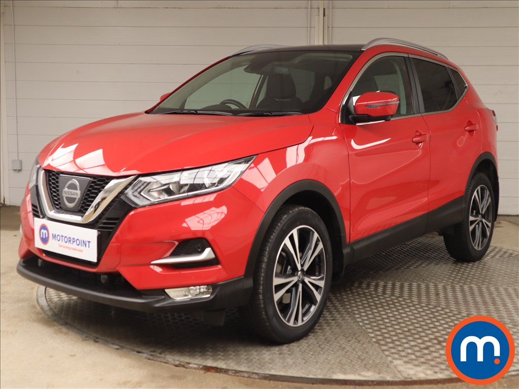 Nissan Qashqai 1.2 DiG-T N-Connecta [Glass Roof Pack] 5dr Xtronic - Stock Number 1142516 Passenger side front corner