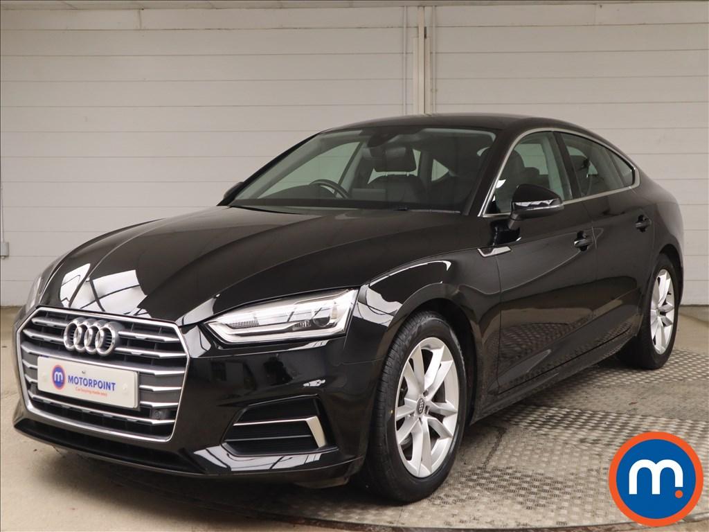 Audi A5 Sport - Stock Number 1148038 Passenger side front corner