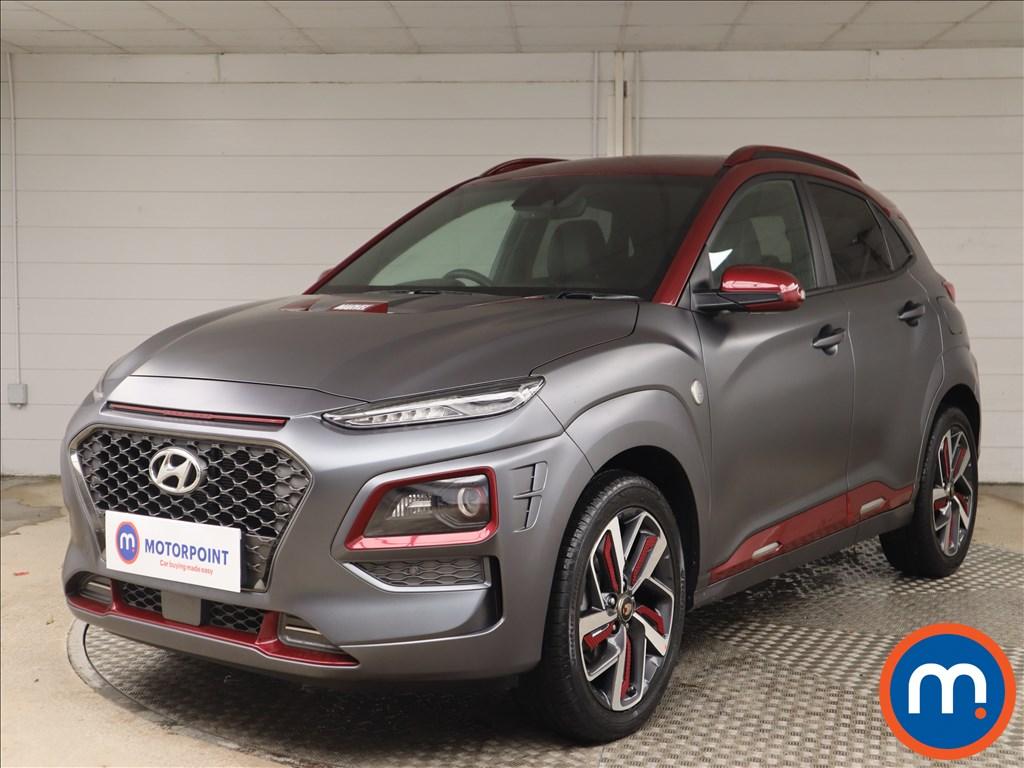 Hyundai Kona Iron Man Edition - Stock Number 1149050 Passenger side front corner