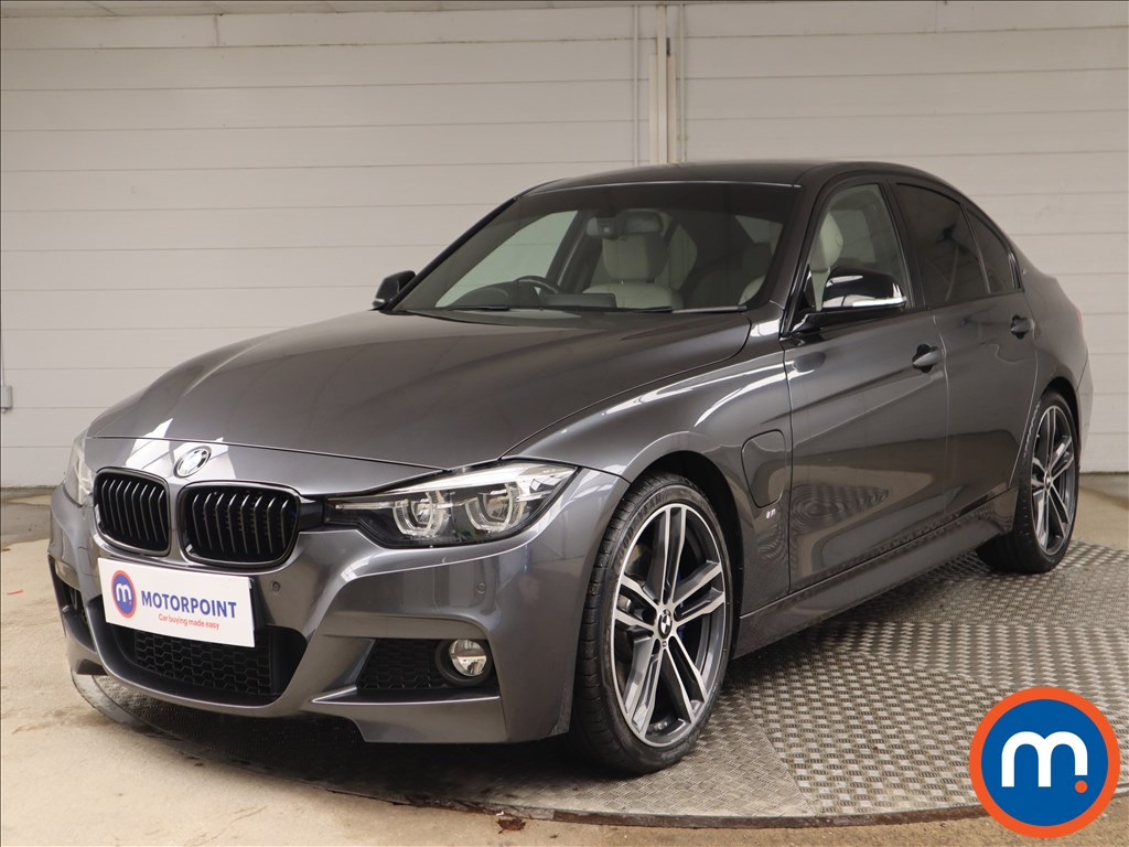 BMW 3 Series 330e M Sport Shadow Edition 4dr Step Auto - Stock Number 1146300 Passenger side front corner
