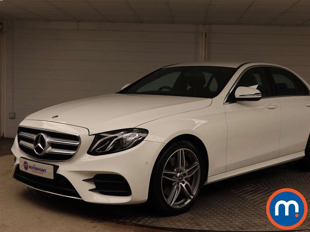 Mercedes-Benz E Class AMG Line - Stock Number 1143077 Passenger side front corner
