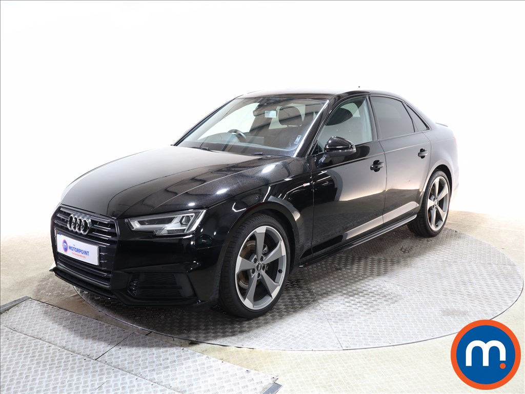 Audi A4 Black Edition - Stock Number 1140547 Passenger side front corner