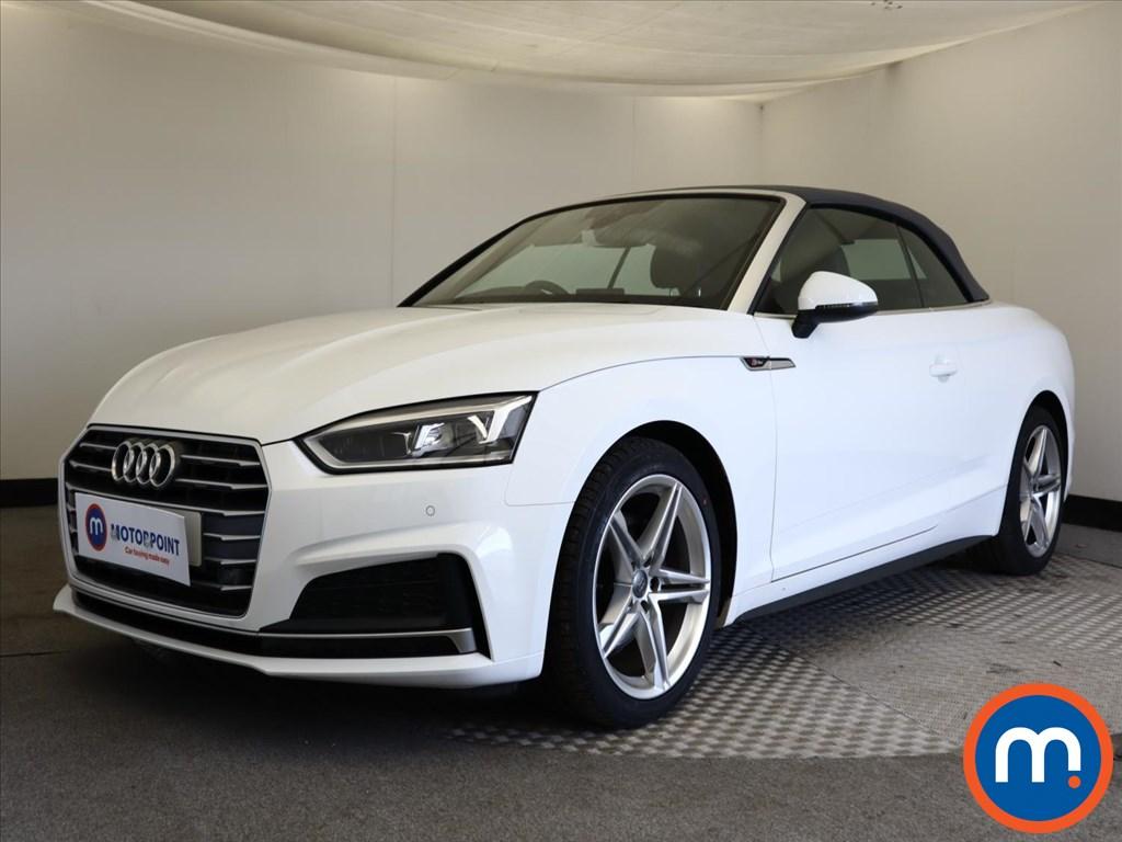 Audi A5 S Line - Stock Number 1143562 Passenger side front corner