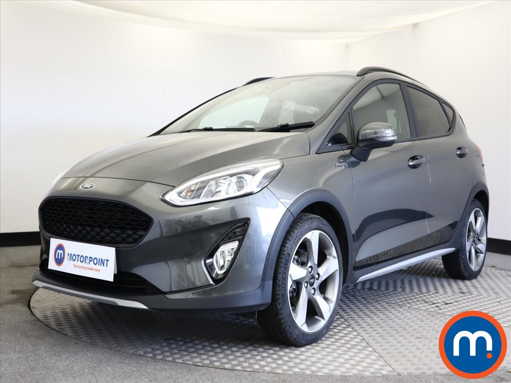 Ford Fiesta 1.0 EcoBoost 95 Active Edition 5dr - Stock Number 1146743 Passenger side front corner