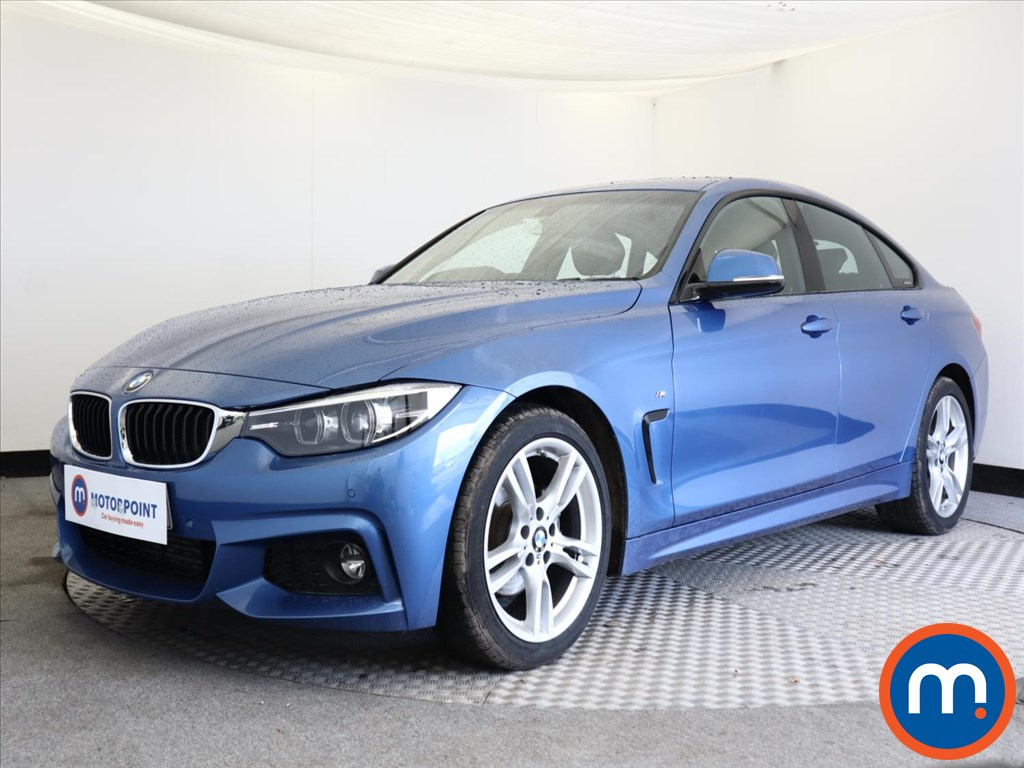 BMW 4 Series 420d [190] M Sport 5dr Auto [Professional Media] - Stock Number 1148192 Passenger side front corner