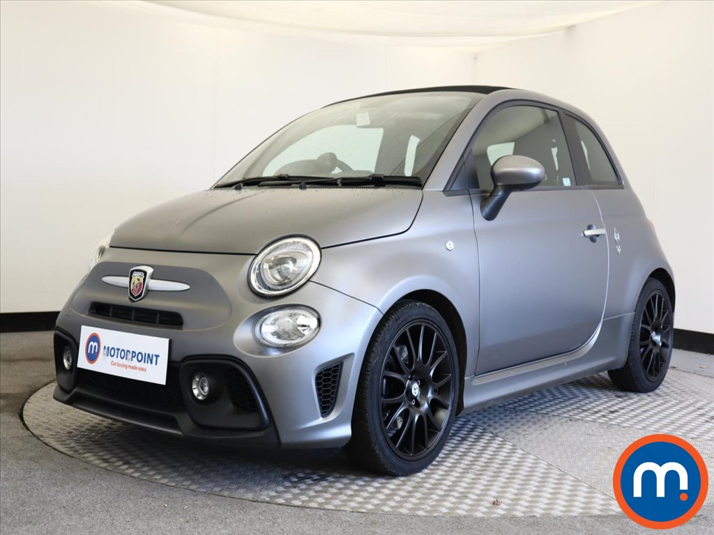 Abarth 595 Pista 70th Anniversary - Stock Number 1149926 Passenger side front corner