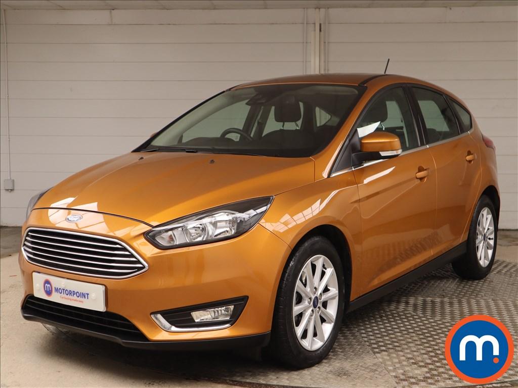 Ford Focus Titanium - Stock Number 1148976 Passenger side front corner