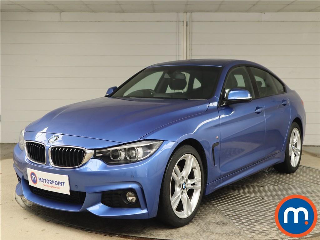 BMW 4 Series 420d [190] M Sport 5dr [Professional Media] - Stock Number 1143096 Passenger side front corner