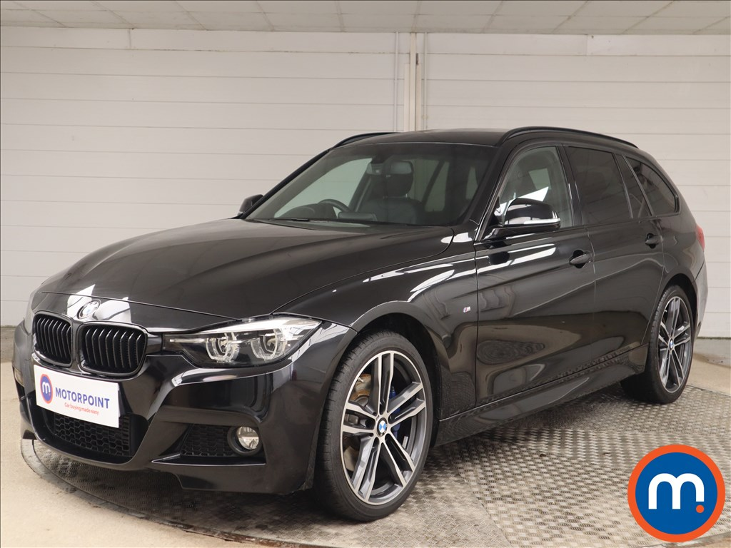 BMW 3 Series 320d xDrive M Sport Shadow Edition 5dr Step Auto - Stock Number 1145887 Passenger side front corner