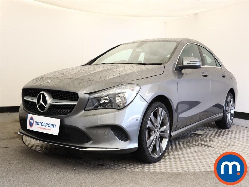 Mercedes-Benz CLA Sport - Stock Number 1150373 Passenger side front corner
