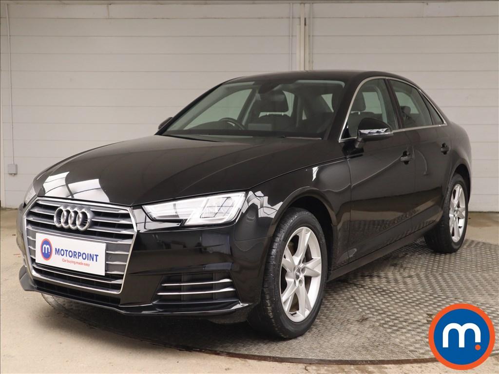 Audi A4 Sport - Stock Number 1144930 Passenger side front corner
