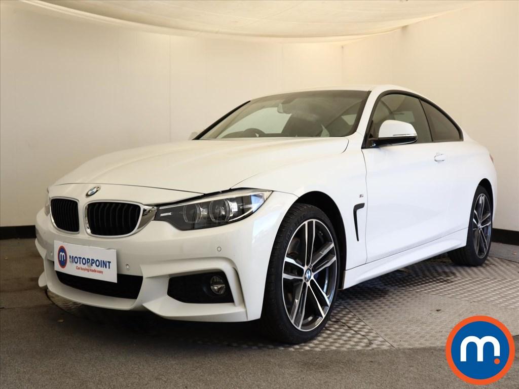 BMW 4 Series 420i xDrive M Sport 2dr Auto [Professional Media] - Stock Number 1149167 Passenger side front corner