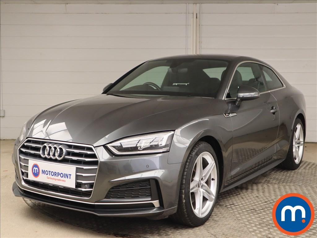 Audi A5 S Line - Stock Number 1147136 Passenger side front corner