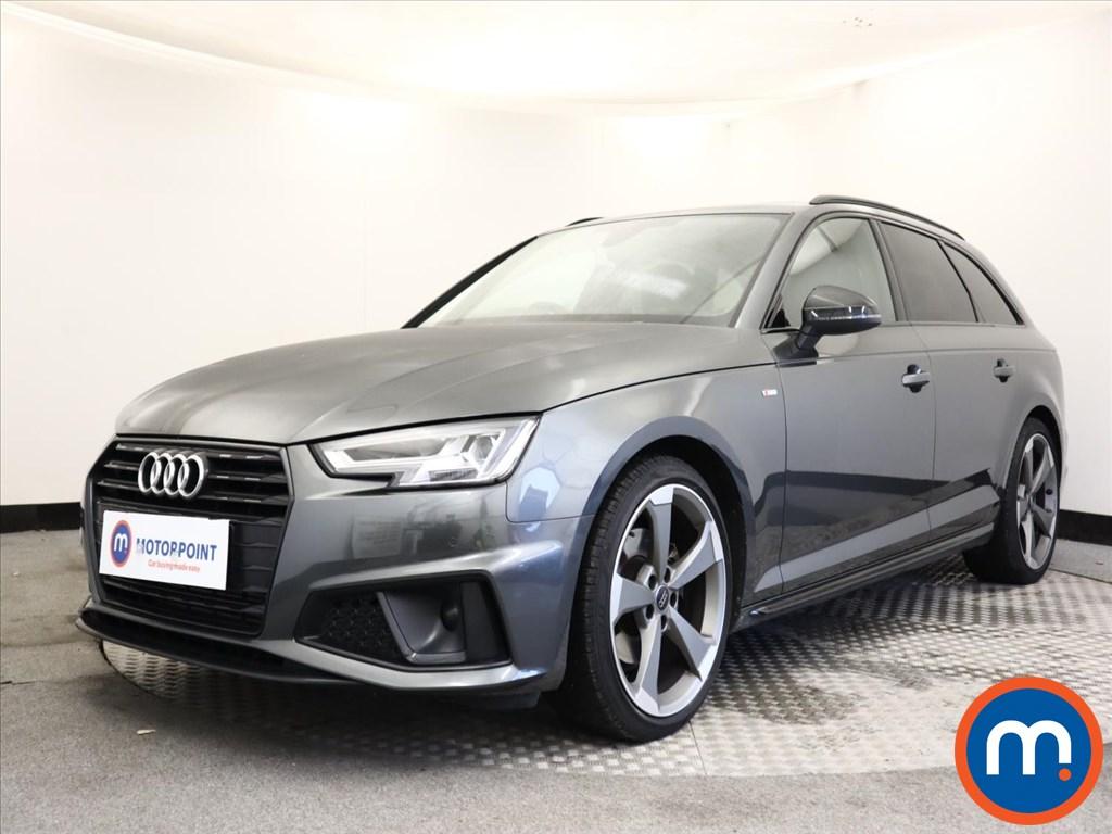 Audi A4 Black Edition - Stock Number 1145370 Passenger side front corner